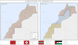 Partition of Morocco