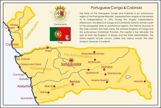 One Hour Map Challenge - Port. Congo and Cabinda