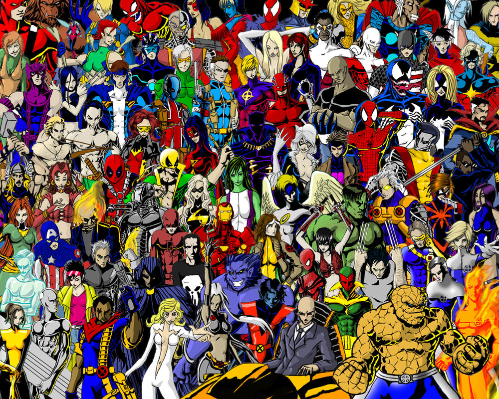 Marvel Malvorlagen Marvel Superhero The Marvel Super: Marvel Super Heroes By Thorup On DeviantArt