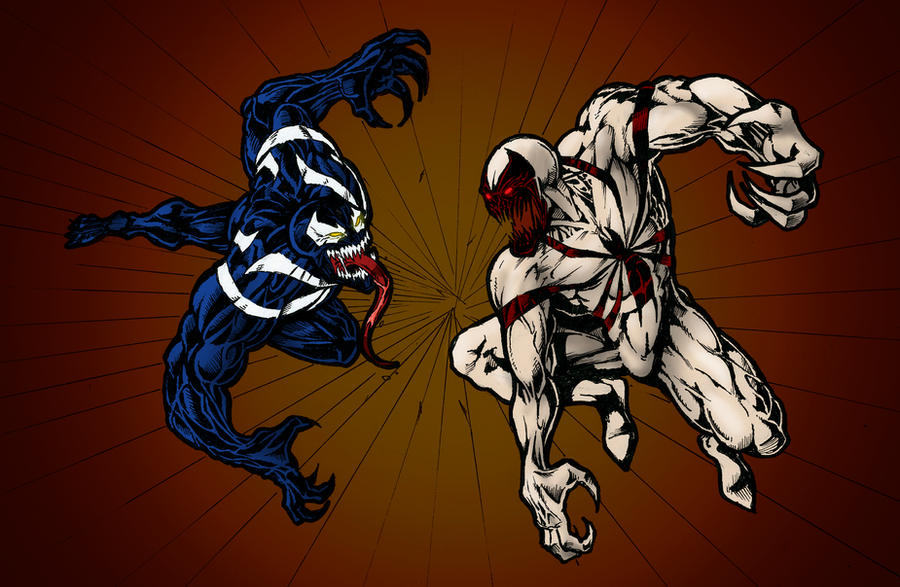 anti venom vs venom wallpaper wwwimgkidcom the image