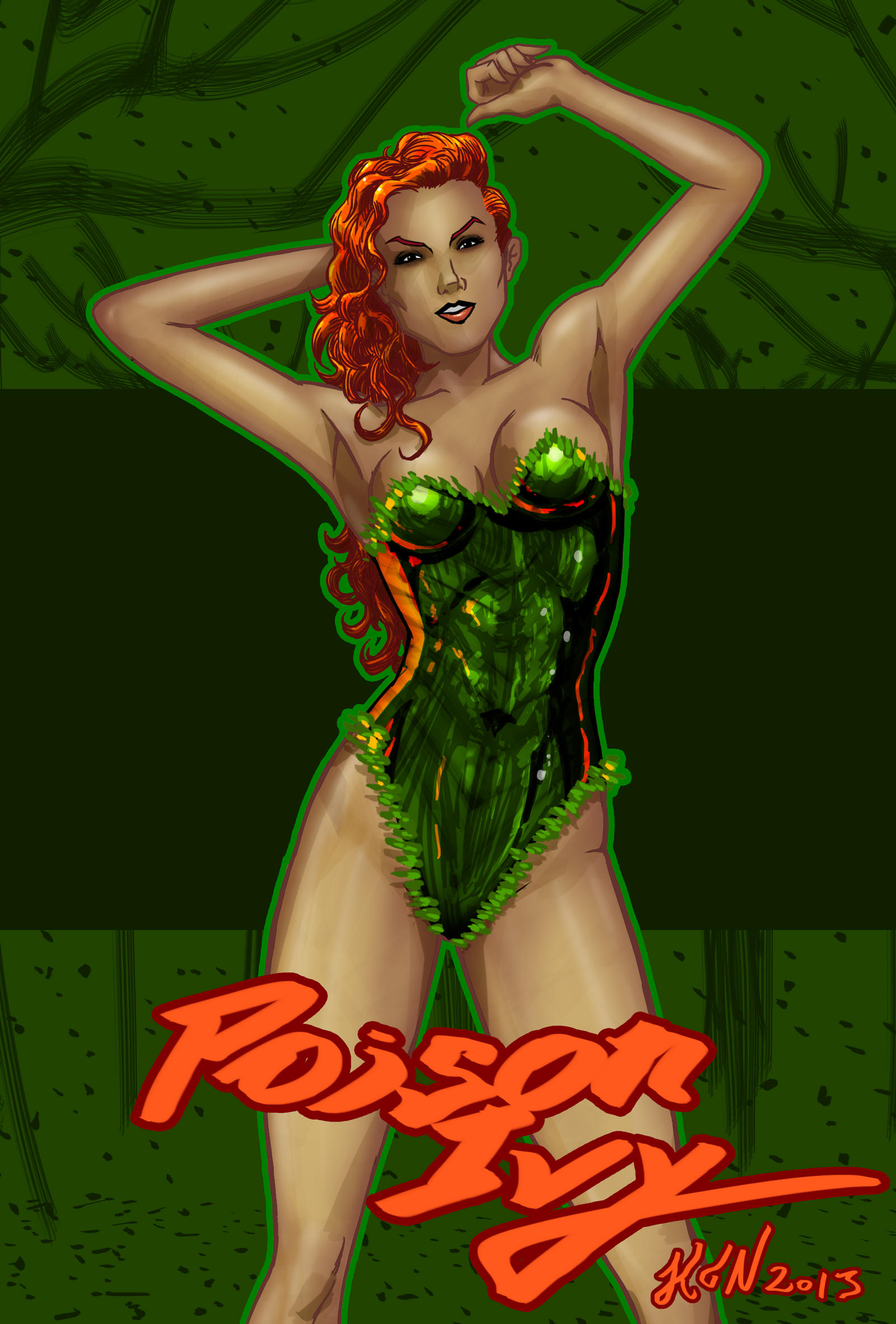 Poison Ivy by thorup