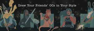 Draw Your Friends' OCs meme by JessicaKKowton