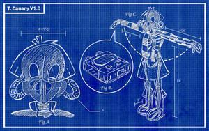 Tekno Bluprints by ll