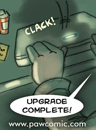 pawcomic.com - Upgrade Complete! by ll