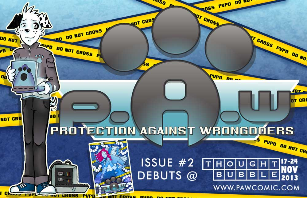 PAW-issue-2-at-thought-bubble-2013 by ll