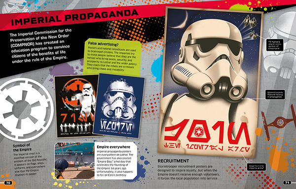 Star Wars Rebels Visual Guide Spread by ll