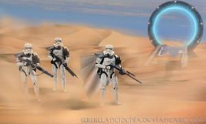 Desert patrol...