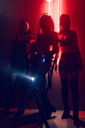 Cyberpunk Squad by BottleTsai
