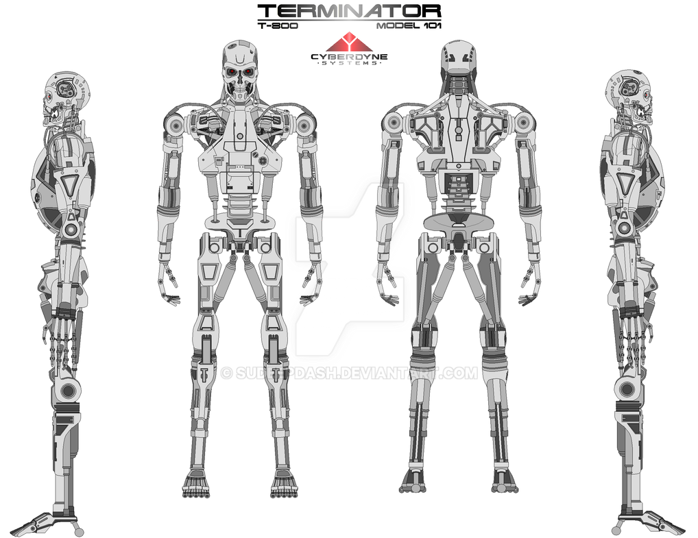 Terminator T 800 by sudeepdash on DeviantArt