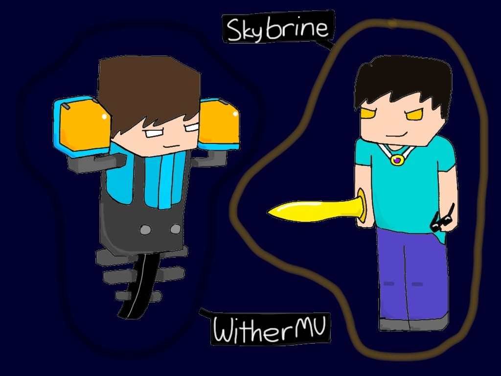 Skybrine and WitherMU by DiamondSwordDS on DeviantArt