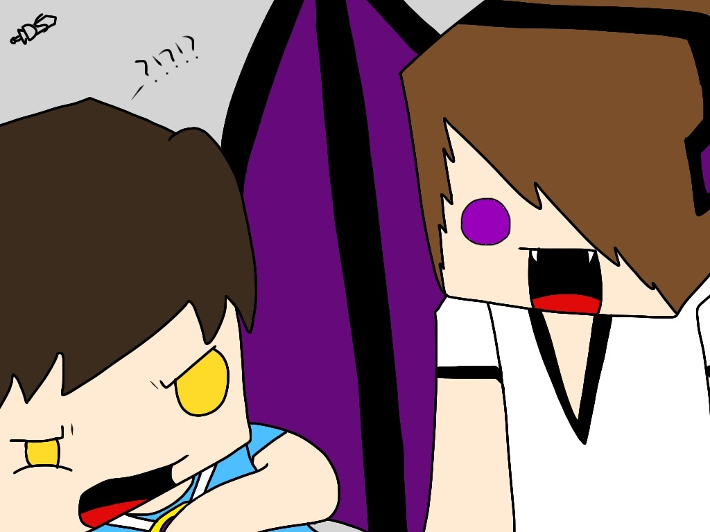 It infected Enderlox.... by DiamondSwordDS on DeviantArt