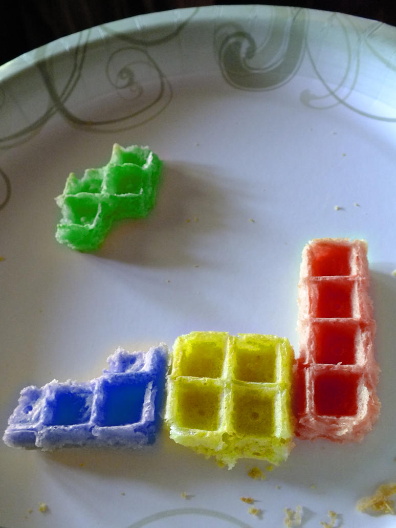 Tetris Waffles by Shadow-711