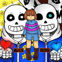 Pacifist or Genocide by jazzy1lol