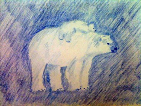 Polar Bear and Mommy