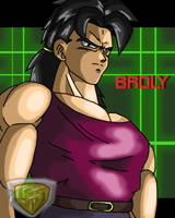 broly as a good guy