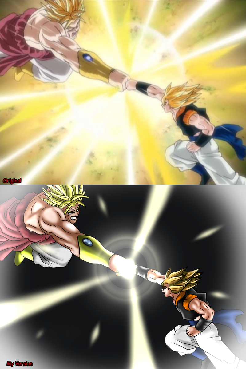 The gallery for --> Vegito Vs Broly