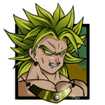 Broly own style picture