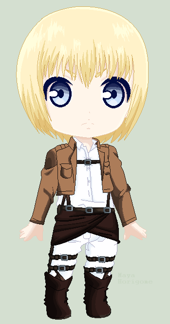 Armin Arlert by MayaHorigome