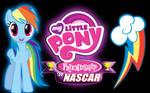 MLP Friendship in NASCAR Restart Rainbow Dash