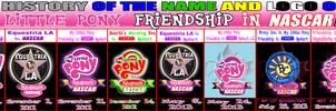 MLP Friendship in NASCAR Logo History
