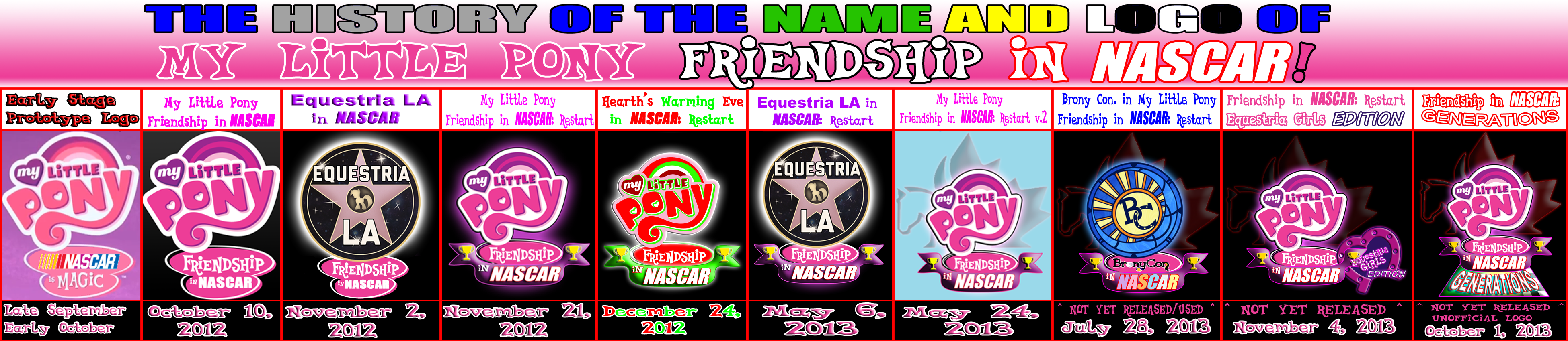 MLP Friendship in NASC... Nascar Logo Png