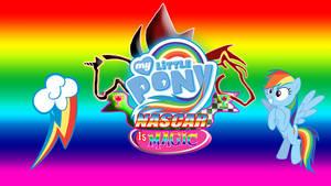 MLP NASCAR is Magic #4 Rainbow Dash Wallpaper