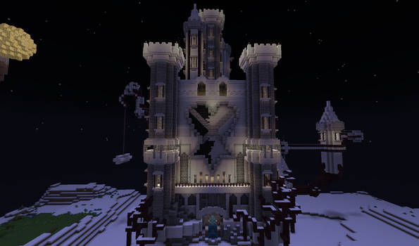 Hollow Bastion Minecraft Finished version