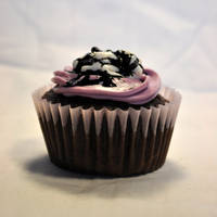 Brain Goo Cupcake 2 by TheRegalCupcake