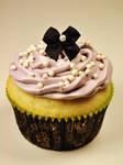 Purple Cupcake Stock
