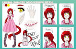 Lydia Matthews - Character Reference by TheRegalCupcake