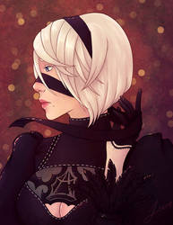 2B - Nier Automata by TheRegalCupcake