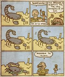 Battle Scorpions by Coelasquid