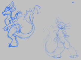 Commission Test Sketching by TehFeeesh