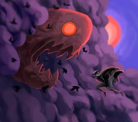Batman vs Scarecrow by Hefestow