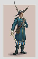 Musketeer man by Hefestow