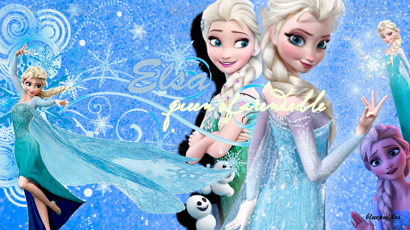 Frozen elsa wallpaper 1366 x 768 by bluepuffles on deviantart frozen elsa wallpaper 1366 x 768 by bluepuffles voltagebd Images