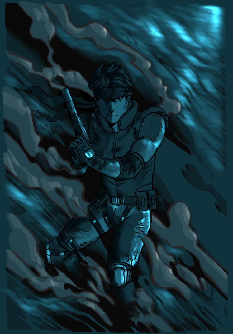 solid Snake by AprilpokeXx