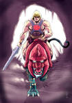 Masters Of The Universe - He-Man by lucianodamiano
