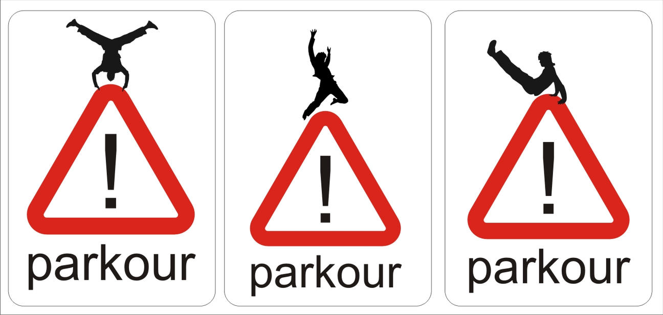 Parkour Logo By Scopevisions
