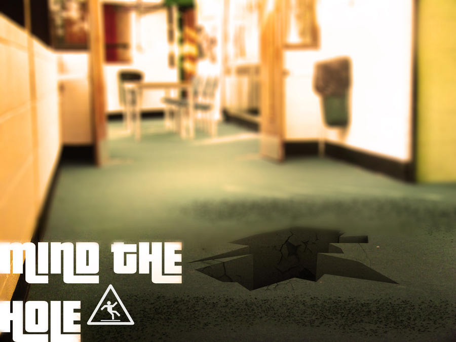hole in the floor ii by cloningmoose on deviantart