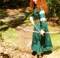 knocking an arrow