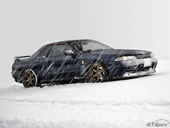 Skyline in the Snow