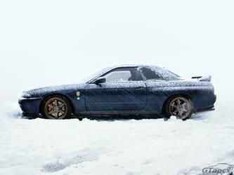 Snowy R32 GT-R
