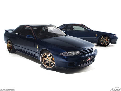 R32 Skyline GT-R Studio Shot
