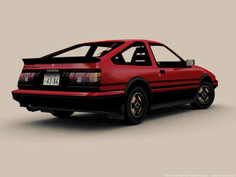 Sprinter Trueno AE86 by pleyr