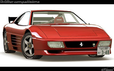 Ferrari 348 Michelotto GTC by pleyr