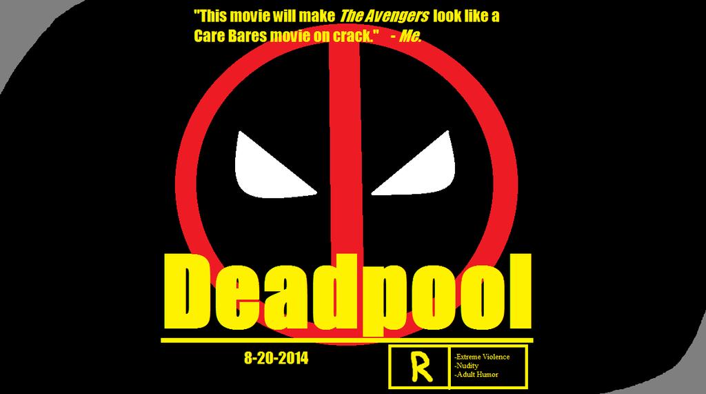 Deadpool Movie Poster 2014 Deadpool movie poster by