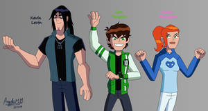 Young adults Ben 10 UAF Trio!