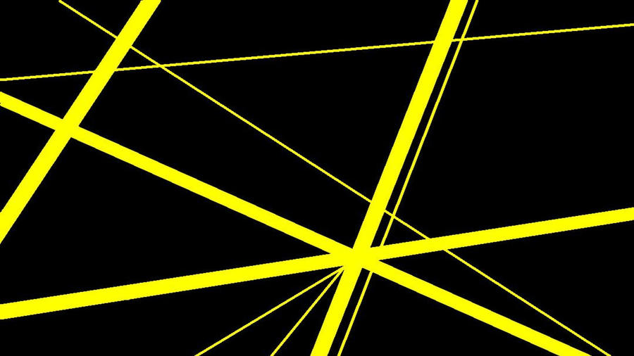 Yellow Stripe Wallpaper: Black With Yellow Stripes V1 By DefLeppardVanHalen On