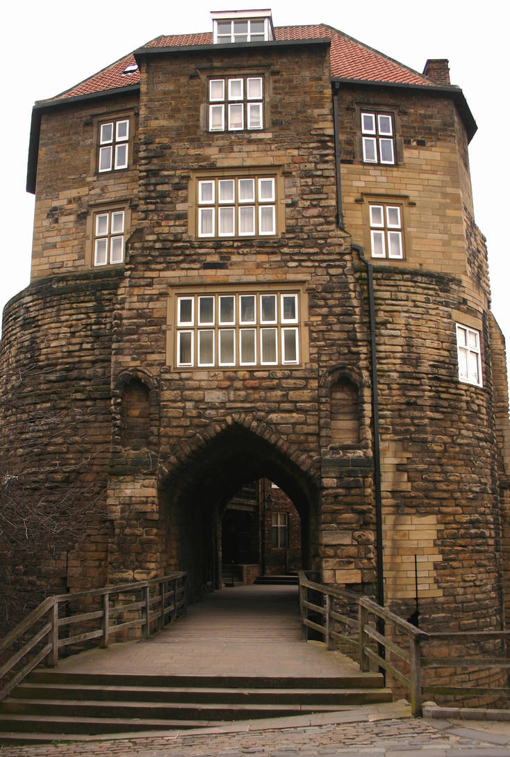 Newcastle Black Gate by AlberichPotter